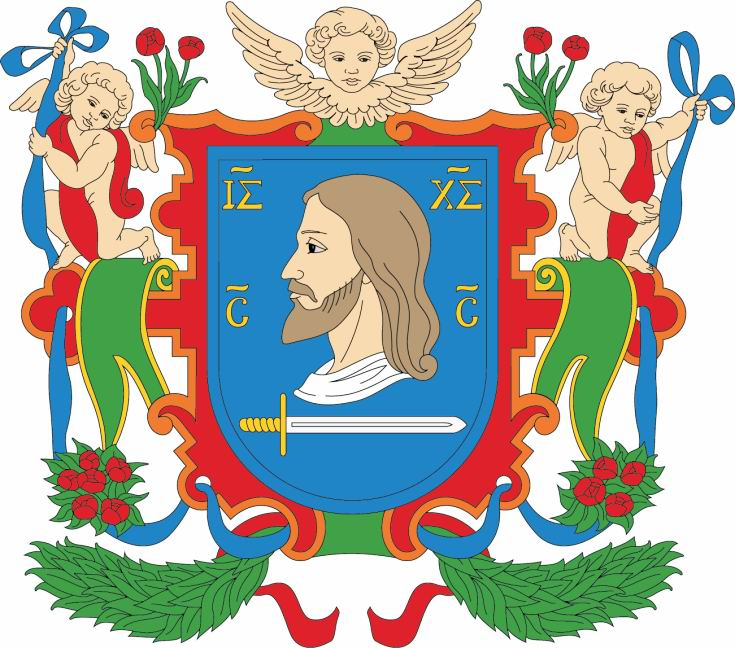 The Coat of Arms and Flag of Vitebsk.